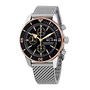 Breitling Watches Breitling Suprocean Heritage II Black Gold Chronograph 44 U13313121B1A1