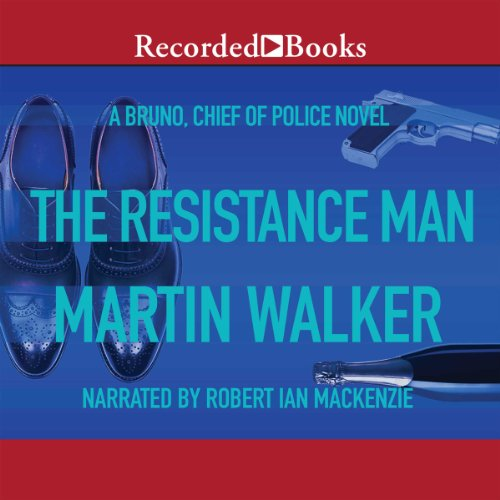 The Resistance Man audiobook cover art