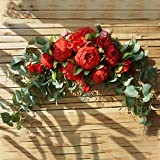 Takefuns Artificial Silk Flowers Swag Slim Table Centrepiece Home Wedding Arch Decor