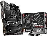 MSI MEG B550 Unify Gaming Motherboard (AMD AM4, DDR4, PCIe 4.0, SATA 6Gb/s, Dual M.2, USB 3.2 Gen 2,...