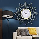 Relojes de Pared Luz nórdica Lujo Reloj de Pared Decoración de la Pared Creativa Hogar Sala de Estar Tienda Reloj Simple y Way Watch