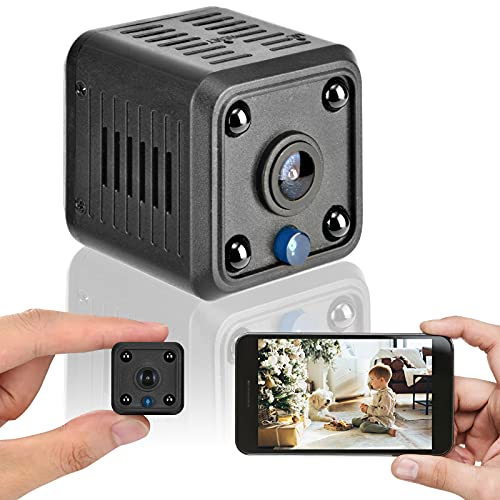 Mini cámara de vigilancia 1080P cámara HD, detección de Movimiento inalámbrica infrarroja...
