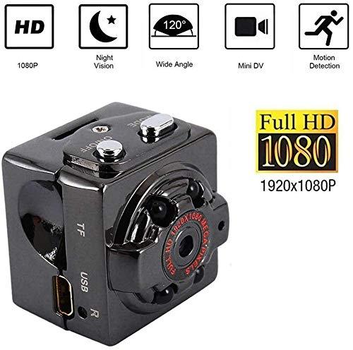 Mini spion camera's verborgen, HD 1080P kleine draagbare bewakingscamera met nachtzicht Nanny Camera Compacte videorecorder voor thuiskantoor Auto