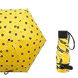 LYJZH Mini Schirm: Mini-Regenschirm mit Transporthülle, extraleicht & superkompakt 50% Sonnencreme Mini Regenschirm colour15 95cm