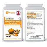Turmeric Curcumin 600mg, 120 Capsules (4 Month Supply)   Black Pepper   Soil Association Certified   High Quality Products   Suitable for Vegetarians & Vegans   Made in UK