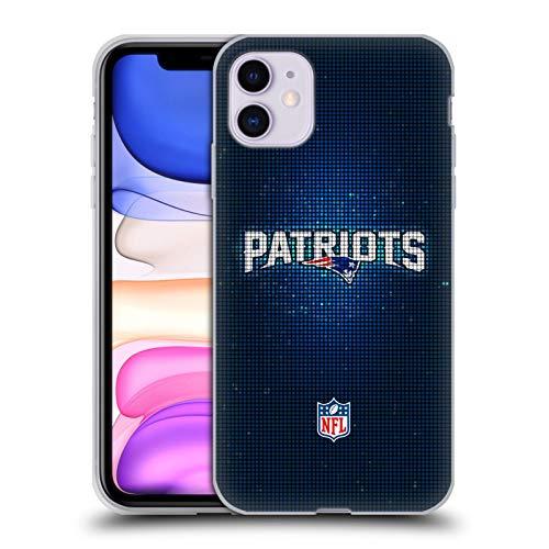 Head Case Designs Offiziell Zugelassen NFL LED New England Patriots Artwork Soft Gel Handyhülle Hülle Huelle kompatibel mit Apple iPhone 11
