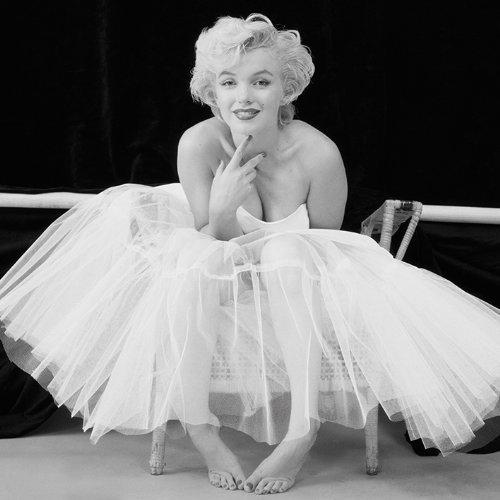 Pyramid International WDC95143 Marilyn Monroe Ballerina  Leinwanddruck auf MDF-Keilrahmen