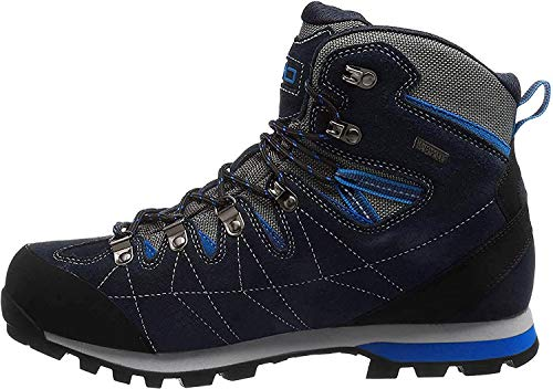 C.P.M. Arietis Trekking Shoes WP, Uomini Uomo, Black Blue, 39 EU