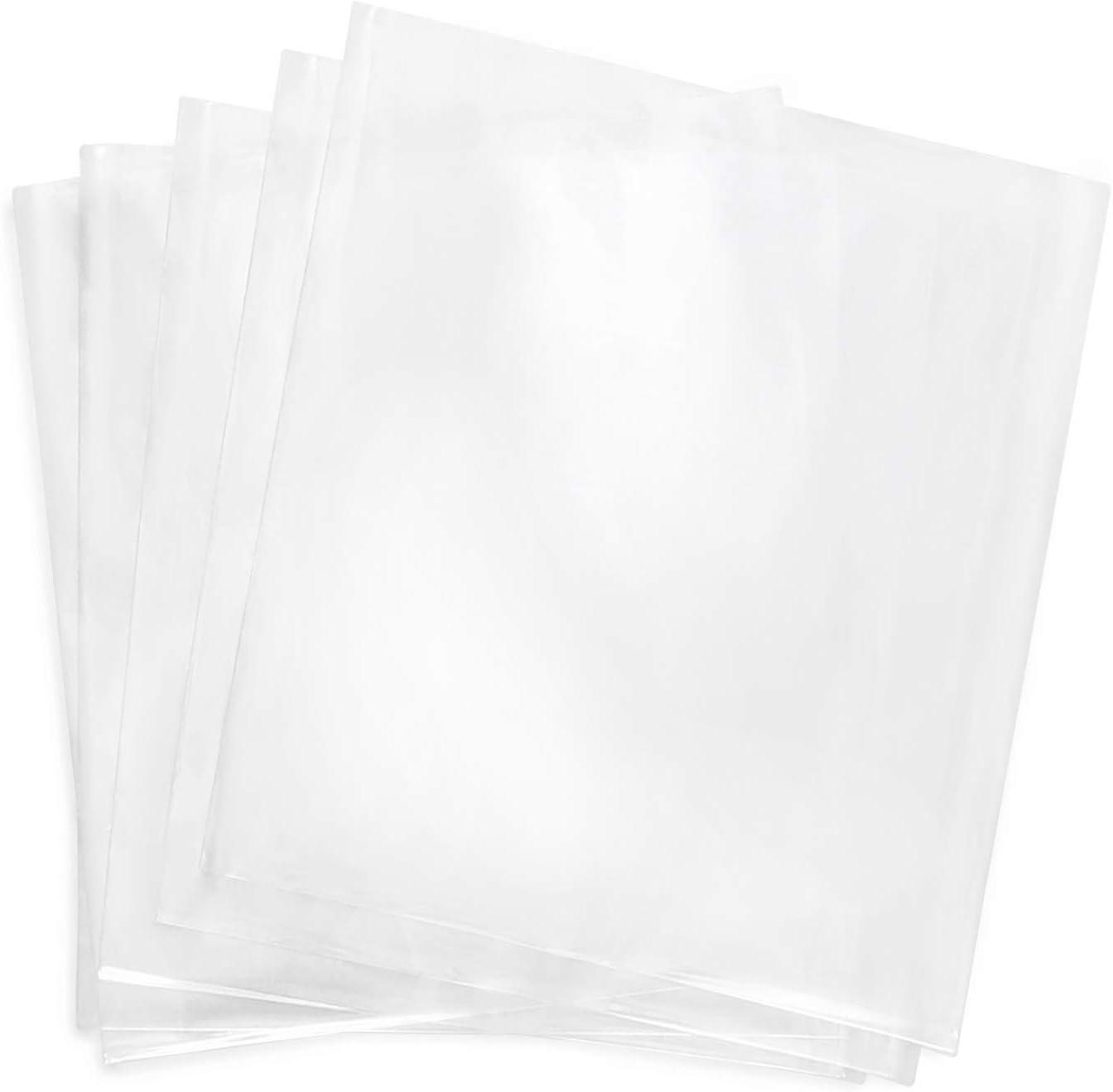 Shrink Wrap Bags,100 Pcs 7x8 Inches Clear PVC Heat Shrink Wrap f