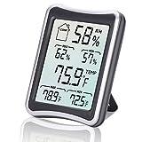 Thermomètre Hygromètre Intérieur, E2Buy Thermomètre interieur numérique à...