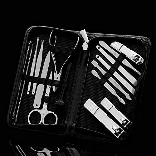 Gereric® 15pcs Nail Clipper Set Nail Groove Foot Nail Tool Coupe - ongles Cut Nail Clipper Set Tool Pedicure Home Travel - C15