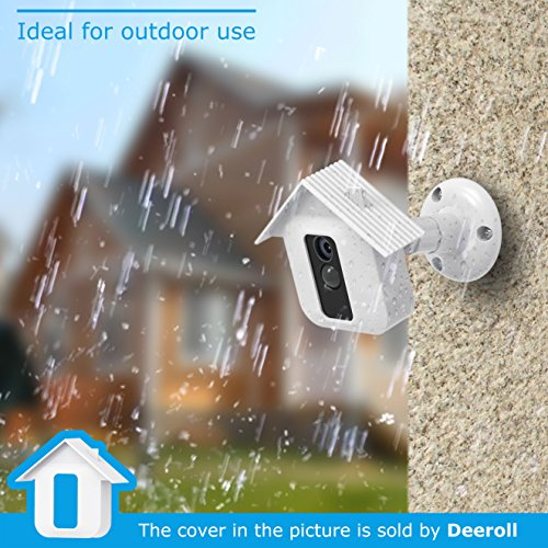 Blink XT Camera Wall Mount Bracket, Mrount Home Security Camera System Accessories, Weather Proof 360 Degree Protective Adjustable Outdoor Camera, White