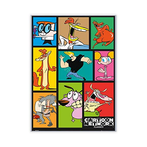 VinMea Cartoon Network Poster Size 16-Inches by 24-Inches Wall Poster Print