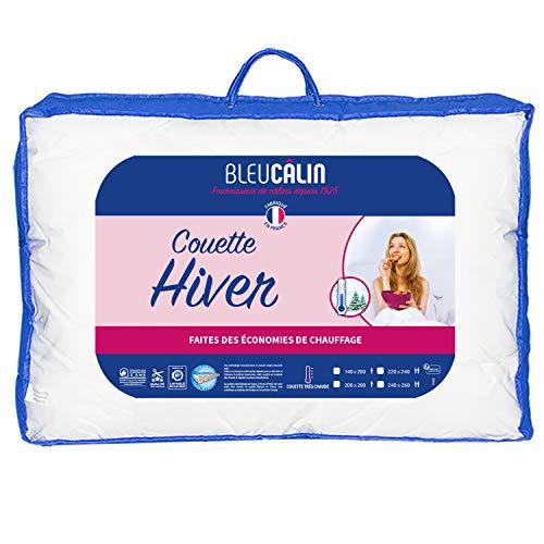 Bleu Câlin Edredón de Invierno, Extra Cálido, Blanco, 140x200cm, KTC