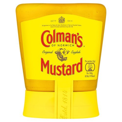Colmans Original English Squeezable Mustard 150g