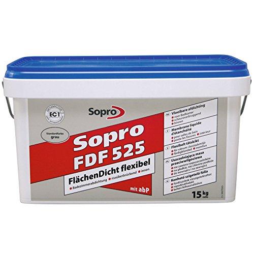 Sopro Flächendicht flexibel FDF, grau, Eimer 15 kg