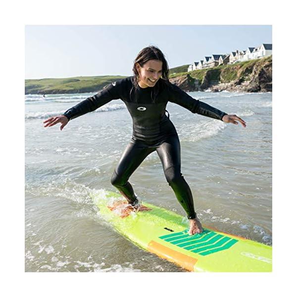 Osprey Womens Full Length 3 mm Summer Wetsuit, Adult Neoprene Surfing Diving Wetsuit, Origin, Multiple Colours