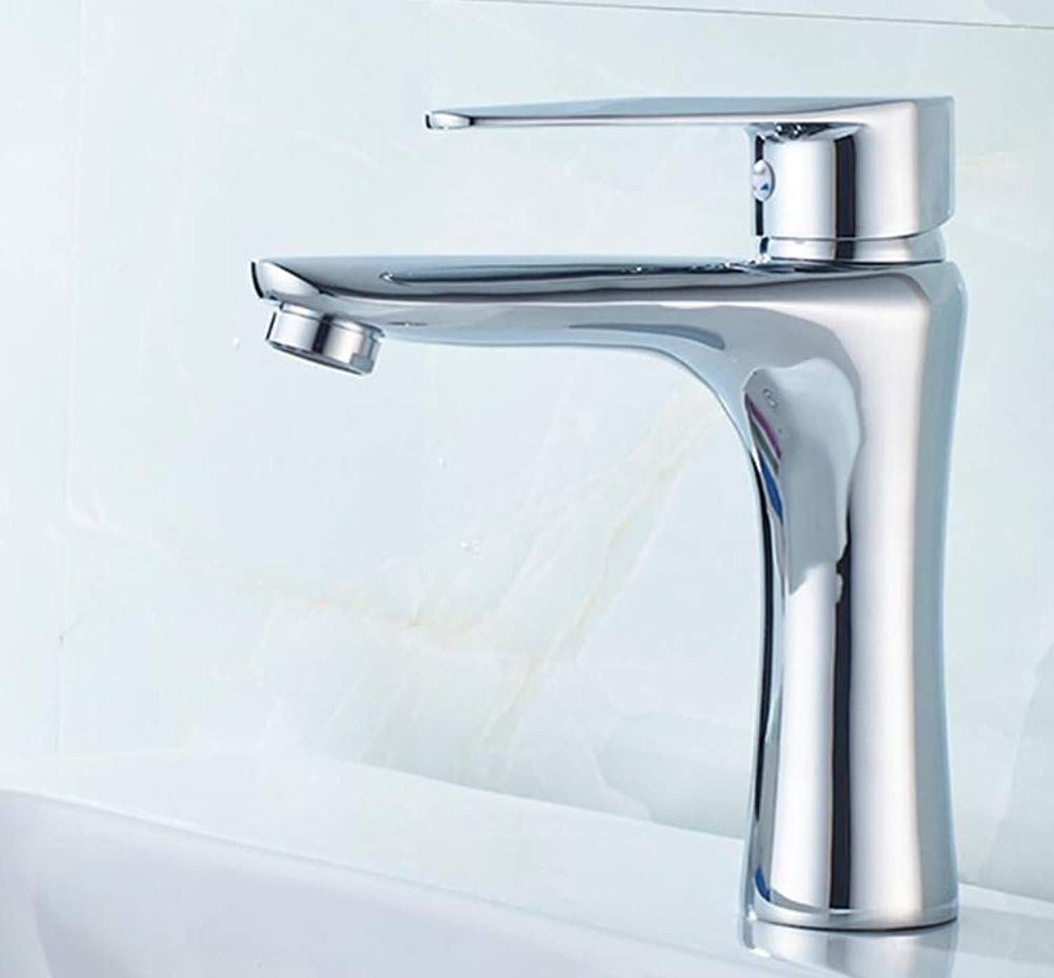 Copper Basin Faucet Bathroom washbasin Single Hole hot and Cold Water Faucet wash Basin Faucet