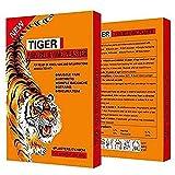 Juego de 28 parches de bálsamo de tigre para el dolor muscular, remedio chino genuino, ideal para el dolor de cuello, espalda, cuello, hombros, articulaciones y curvatura