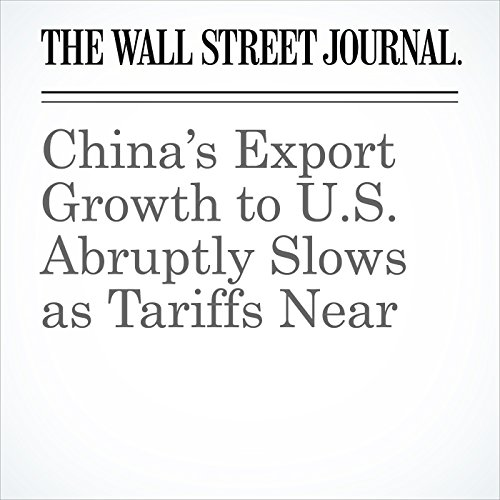 China's Export Growth to U.S. Abruptly Slows as Tariffs Near audiobook cover art
