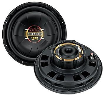 Boss 10 Inch 800W Shallow Slim Car Audio Subwoofer Power Sub Woofer Flat D10F