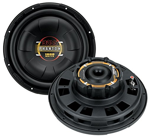 Boss 10' 800W Shallow Slim Car Audio Subwoofer Power Sub Woofer Flat D10F