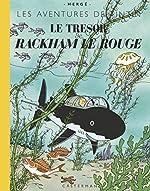 Les Aventures de Tintin - Le trésor de Rackham le Rouge : Edition grand format de Hergé