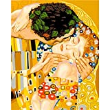 ZXDA Kits de Pintura por números de Cuadros de Bricolaje para Adultos Kits de Pintura por números de Figura Abstracta para decoración Moderna del hogar Regalo de Bricolaje A3 50x70cm