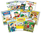 Ultimate PBS Caillou Learning DVD Collection: Big Kid Caillou/Learns To Share/Halloween/Kitchen/Playschool Adventures/Fun Outside/Playtime With/The Creative/Things That Go/Garden Adventures + Bonus Pu