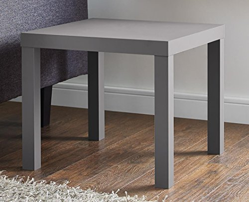 DHP Parsons Modern End Table, Gray