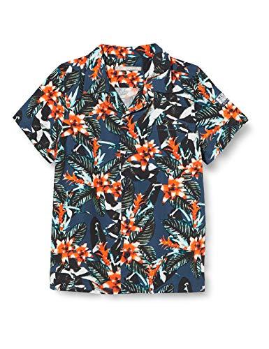 Mexx Jungen 952123 Hemd, Mehrfarbig (Allover Print 318803), (Herstellergröße: 104)