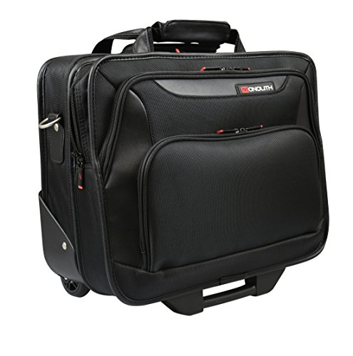 Monolith trolley case with laptop compartment