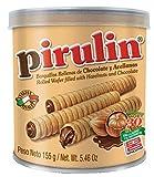 Barquillos Chocolate Pirulin, Caja 6 latas. Lata Barquillas Pirulin