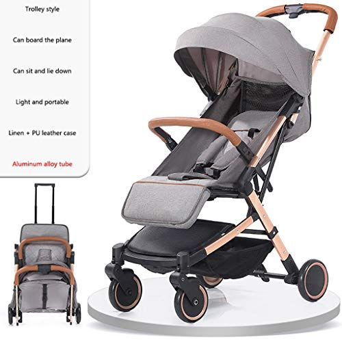 Buy Bargain Baby Stroller can sit Reclining Light Stroller Folding Two-Way Stroller Child Baby Four ...