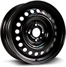 RTX, Steel Rim, New Aftermarket Wheel, 16X6.5, 4X108, 63.5, 47, black finish X46646