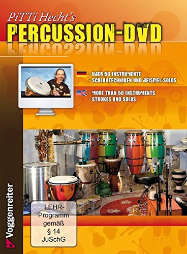 Pitti Hecht\'s Percussion-DVD (Voggenreiter Verlag)