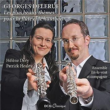 Georges Delerue : Les plus beaux thèmes pour la flûte et le hautbois