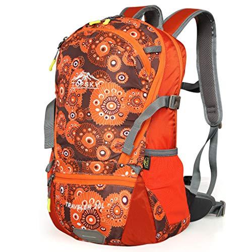 WGKUMMQN Reisrugzak, 20 liter, modieus, sporttas, uniseks, professionele outdoor sports riding rugzak 70L oranje
