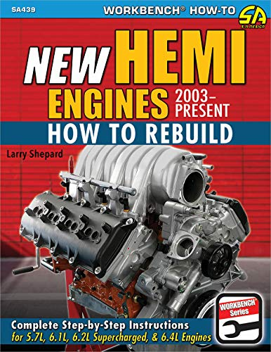 New Hemi Engines 2003-Present: How to Rebuild (Performance How-to) (English Edition)