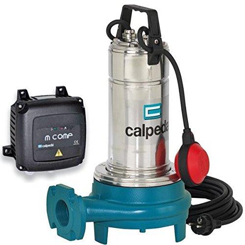 CALPEDA Pompe Submersible Dilaceratrice Eau Usée GQG6-18m 0,9kW 1,2Hp 230V 50Hz