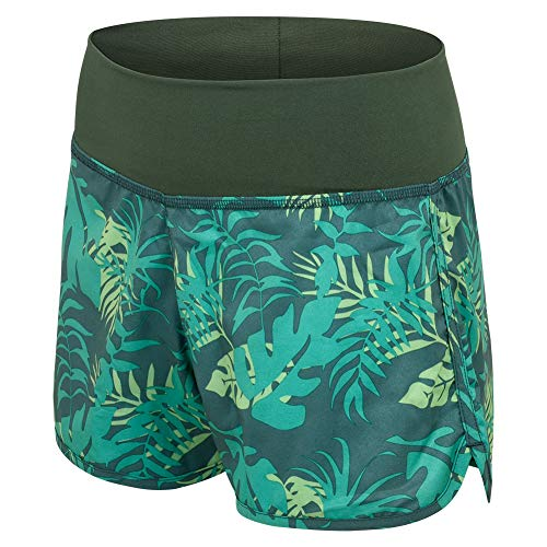SUNDAY ROSE Women's Board Shorts Quick Dry Elastic Waist Swim Beach Shorts No Mesh Liner,Green,XX-Large