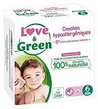 Love & Green Couches Bébé 15+ kg Taille 6