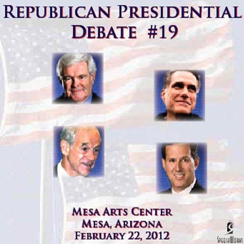 Republican Presidential Debate #19: Mesa Arts Center, Mesa A