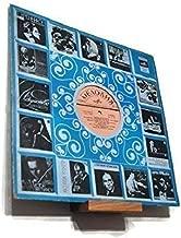 Vinyl record shelf wall mount display