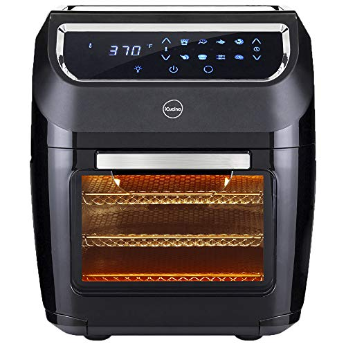 iCucina Air Fryer |10 Qt Actual Capacity 1700W Power Frier