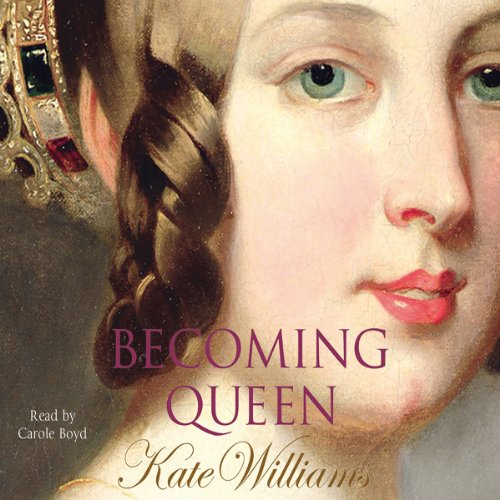 Becoming Queen audiobook cover art