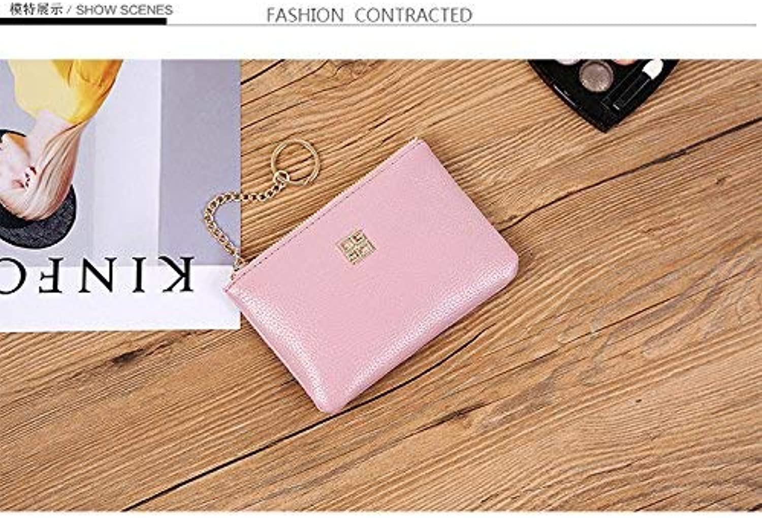 Girls Purse The Girl Pack Pattern Women's Hand Bag Trends Single Shoulder Oblique CrossPackage Cross, Square Hand Bag (color   Pink)