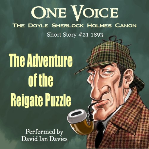 The Adventure of the Reigate Puzzle audiobook cover art