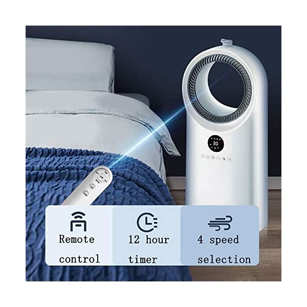 f-Montado-en-el-Piso-Ventilador-Sin-AspasSuper-Silencioso-Iones-Negativos-Refrigerador-de-Aire-de-Seguridad-Ventilador-sin-Hojas-DurableBlancoA