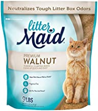 LitterMaid Premium Walnut Clumping Litter 9 Pounds